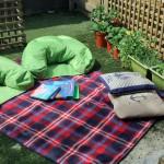 Jack and Jill Nursery Corfe Mullen garden rug