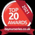 Day Nurseries top 21 logo